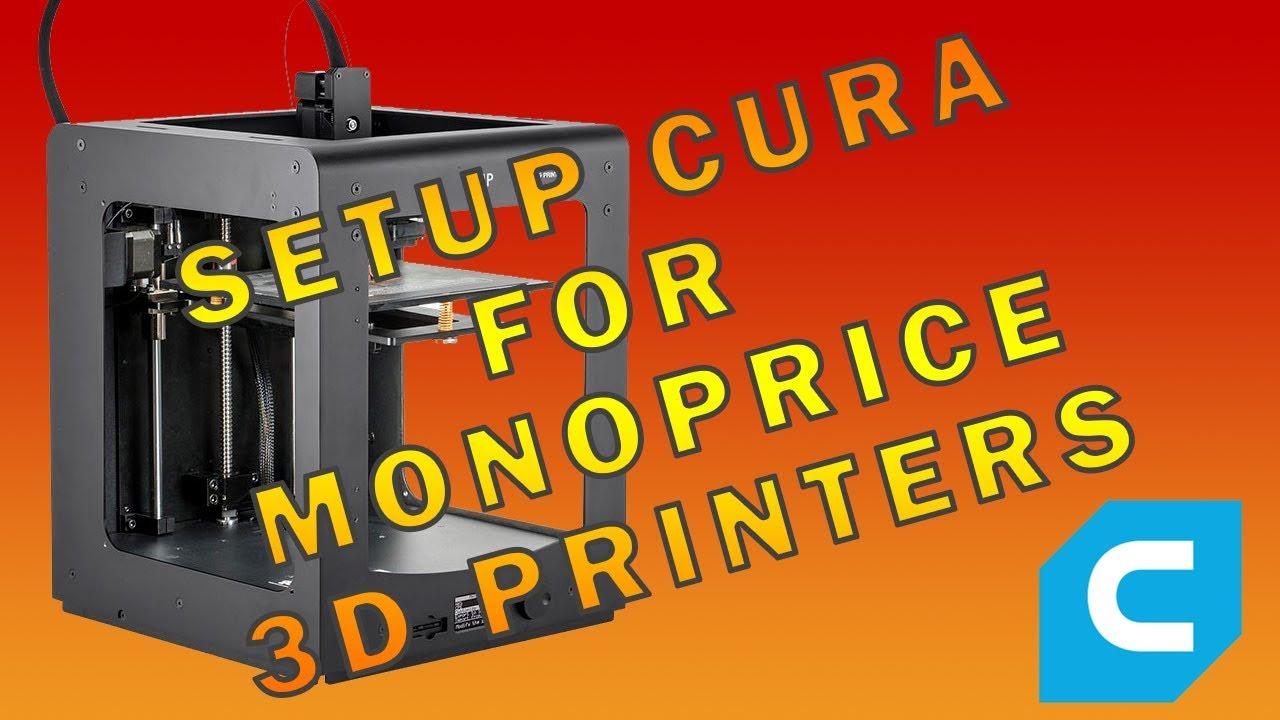 Help setting ups Maker Select Plus 3D Printer - Cura + plugins