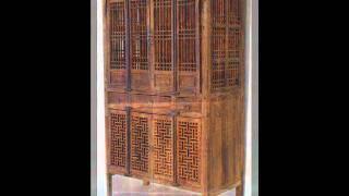 Antique Chinese Kitchen Cabinet _cs1017.wmv