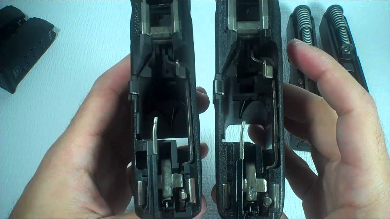 Glock 26 Gen3 vs Gen4 Comparison - YouTube