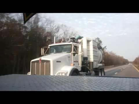 Kenworth T800 vacuum truck