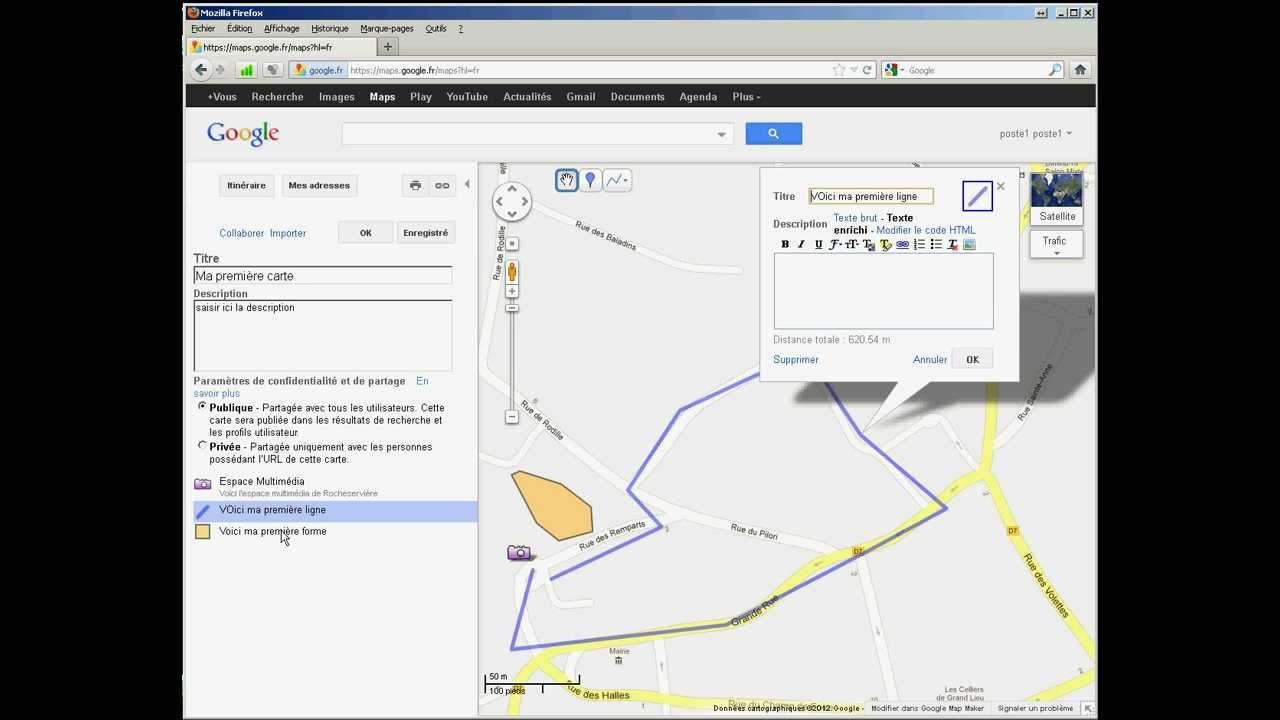 Crer Une Carte Personnalise Avec Google Map