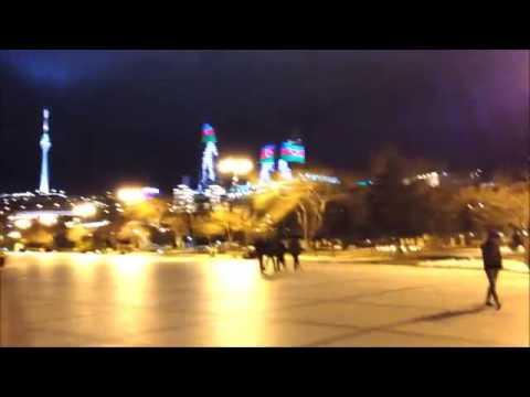 Winter Travel   Azerbaijan, Baku 2014