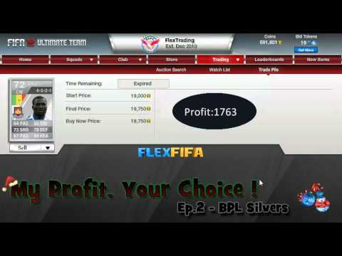 "FIFA 12 Ultimate Team - ""My Profit, Your Choice"" Ep.2 - BPL Silvers"