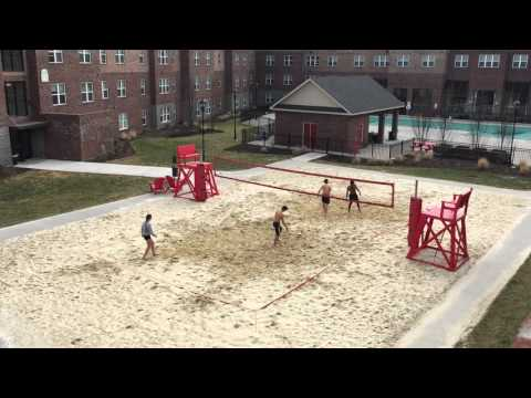 Doubles Sand Volleyball - Wind Advisory
