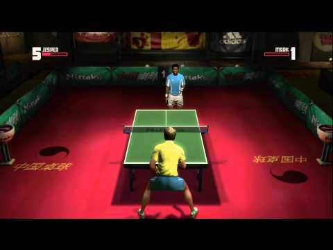 Rockstar Table Tennis - Jesper vs Mark (Expert)