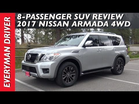 Watch This: 2017 Nissan Armada 4WD Review on Everyman Driver