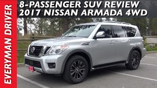 Here's the 2017 Nissan Armada 4WD Review on Everyman Driver