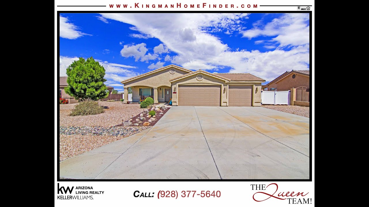 Home for sale in Kingman AZ  Valle Vista Home  YouTube