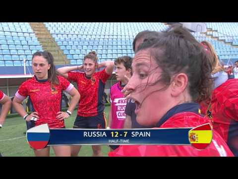 Womens 7s Sao Paulo 2016 Russia vs Spain