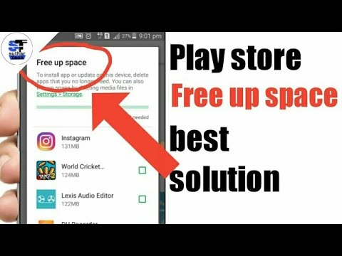 Download how to fix google play store free up space problem(in hindi)🔥🔥 | 2020 Latest Trick