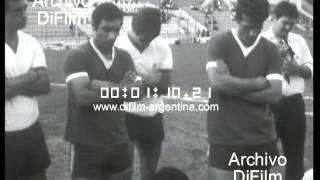 DiFilm - Entrena Argentina en estadio de Huracan (1967)