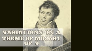 Fernando Sor: Variations on a Theme of Mozart, Op. 9 古典結他演奏