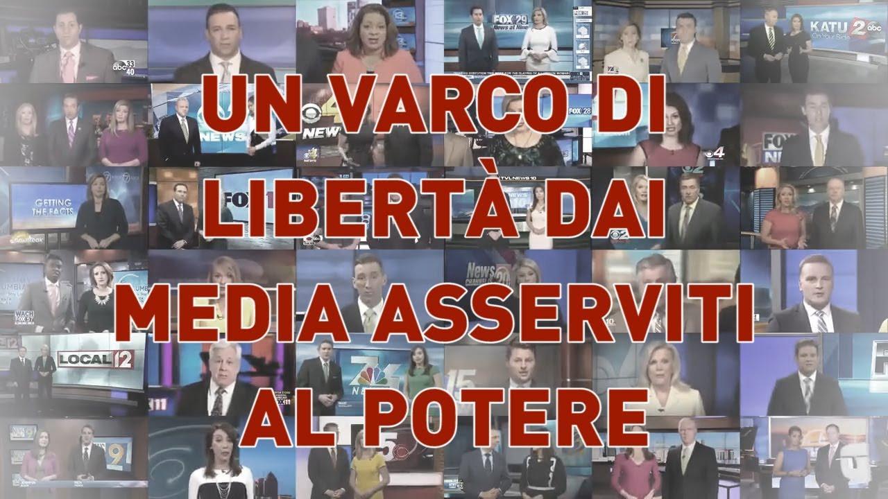 PANDORA TV un varco di libertà dai media asserviti al potere