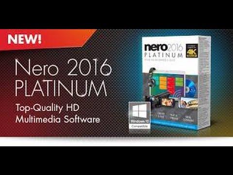 Phần mềm ghi đĩa dvd Nero Platinum 2016 là phiên bản mới nhất
