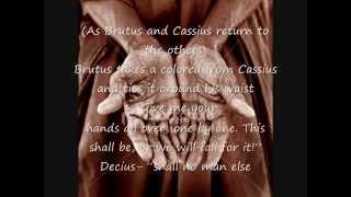 Julius Caesar Act 2 scenes 1-4