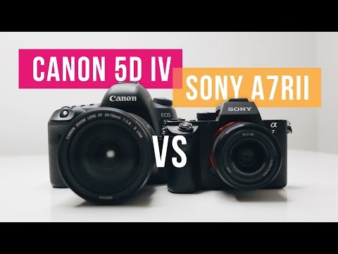 Canon 5D Mark IV vs Sony A7R II - Review for photographers and filmmakers