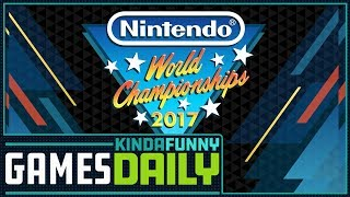 Nintendo World Championships Reaction - Kinda Funny Games Daily 10.09.17