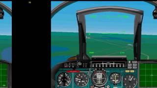 [MS-DOS Game] SU27 Flanker Flight Simulator