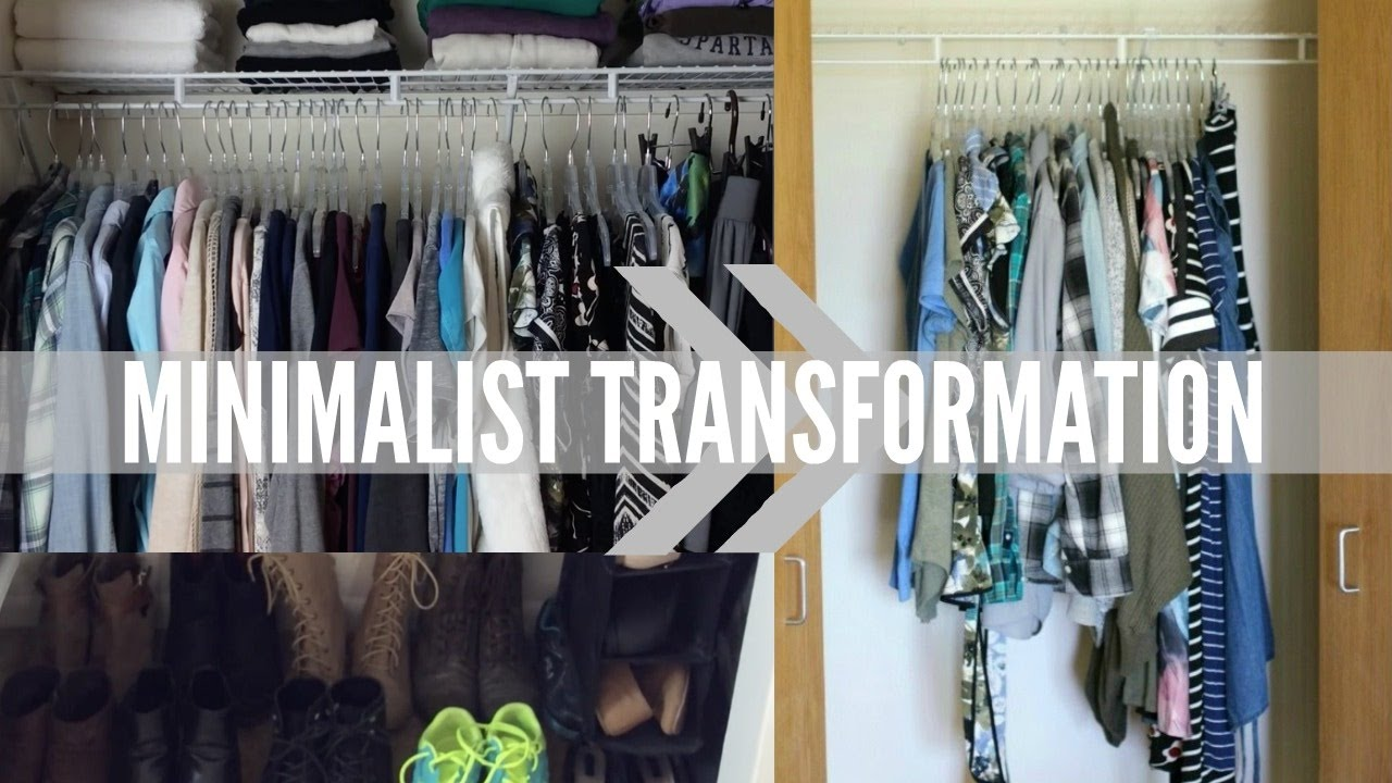 Minimalist transformation before after decluttering for Minimalism before and after