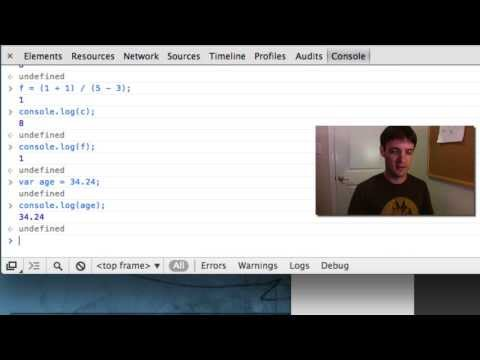 JavaScript Operator Basics - Math & Strings