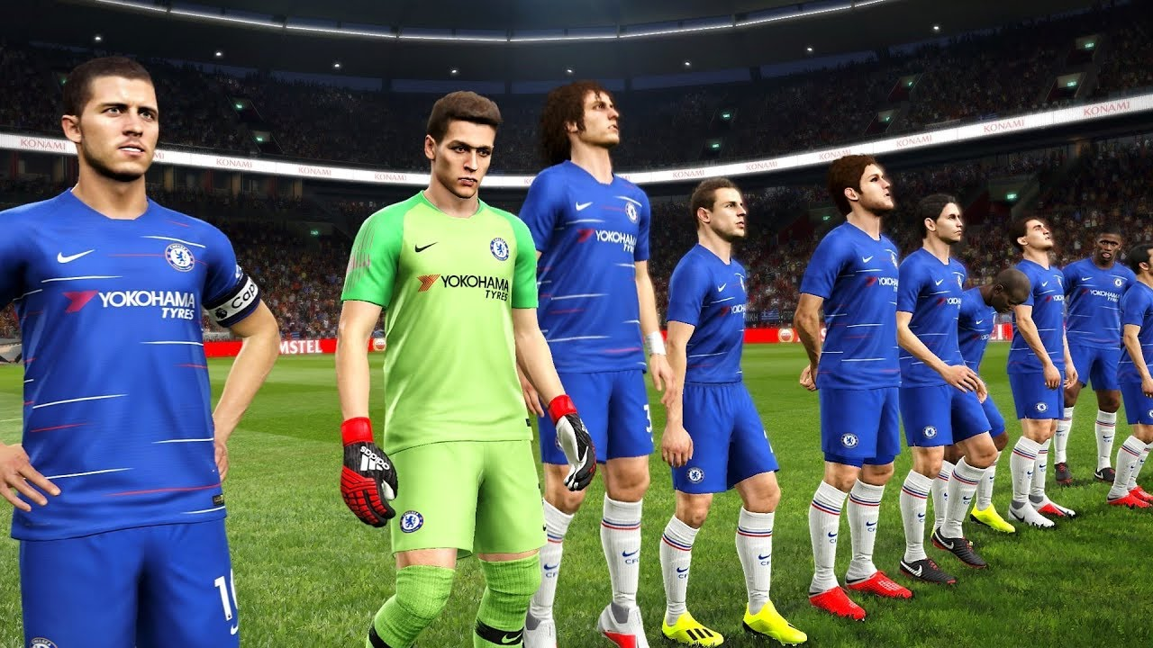 PAOK vs Chelsea | UEFA Europa League 20 September 2018 | Gameplay - YouTube