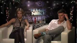 Alex Pettyfer And Cody Horn Talk Stripping In 'Magic Mike'