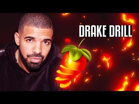 Drake WAR Drill Beat Tutorial in FL Studio
