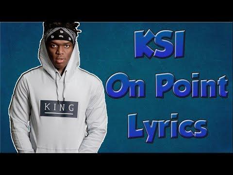 KSI - On Point (Logan Paul Disstrack) (lyrics)