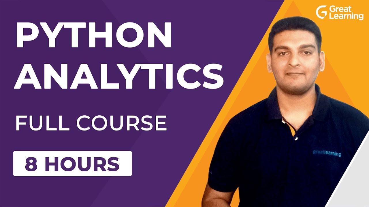 Python for Analytics Full Course for Beginners | Numpy, Pandas, Matplotlib, Seaborn