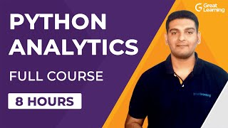 Python for Analytics Full Course for Beginners | Numpy, Pandas, Matplotlib, Seaborn | Great Learning