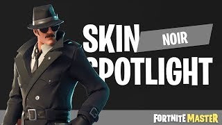 Noir Skin Spotlight (Fortnite Battle Royale)