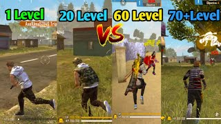 1Level To 70 Level 🤔Gameplay Free Fire||Badges 2