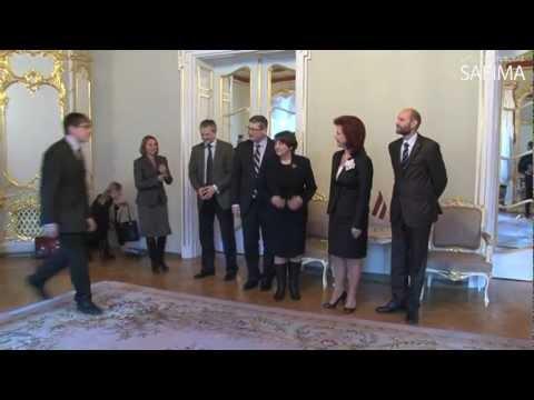 Solvita Āboltiņa tiekas ar EP deputātēm un Baltijas valstu lauksaimniecības ministriem