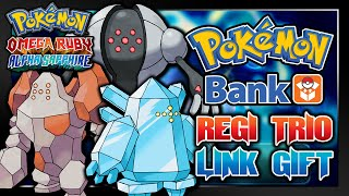Pokémon Omega Ruby & Alpha Sapphire - Free Hidden Ability Legendary Regi Trio Event! (Pokemon Bank)