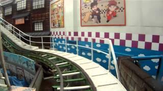 Jet Coaster Roller Coaster POV Hanayashiki Tokyo Japan Oldest Coaster 1080p HD