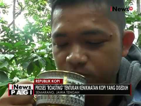 Nikmatnya kopi langsung yang dipetik dari kebun di Semarang - iNews Pagi 06/10