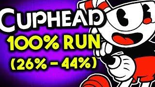 CUPHEAD - 100% RUN (26%-44%) - Bugs & Glitches