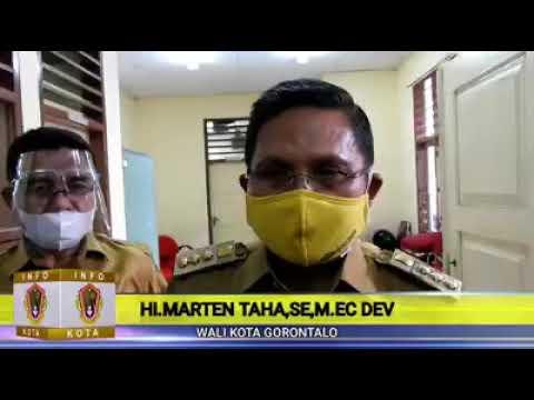 Wali Kota Gorontalo Meninjau Pelaksanaan Ujian Seleksi Kompetensi Bidang CPNS Kota Gorontalo
