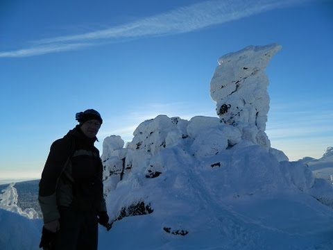Как выглядит Гора Качканар зимой/ Looks Like The Mountain Kachkanar In The Winter