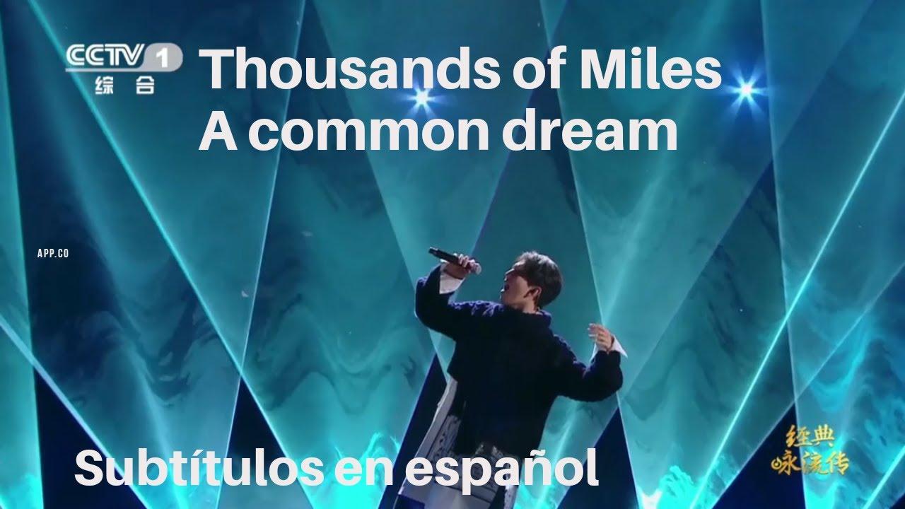 """DIMASH """"Thousands of Miles, A Common Dream - Subt. Español"""