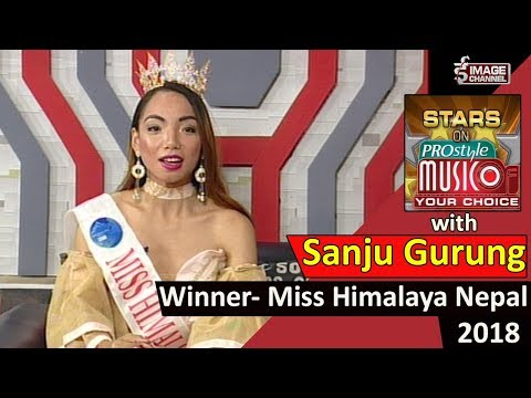 Star on Music of Your Choice with Sanju Gurung , Miss Himalaya Nepal, 2018 - 2075 - 5 - 13