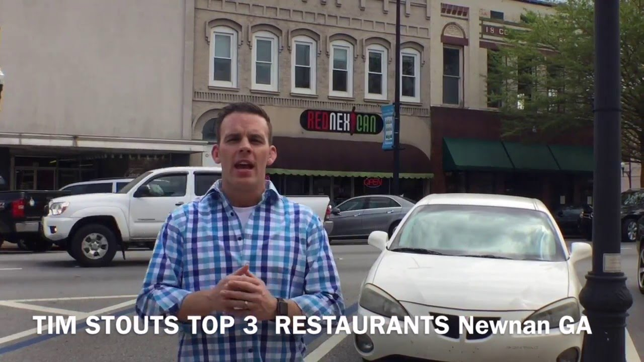Tim Stouts Top 3 Restaurants In Newnan Youtube