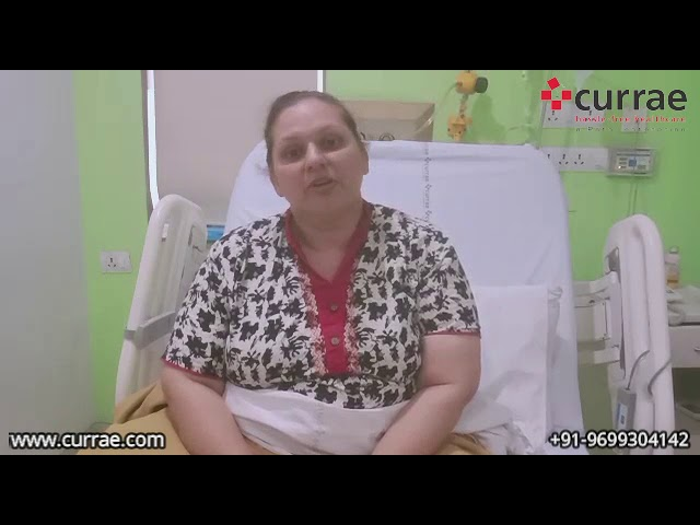 Dr. Ayushi Sahay | Uterine Fibroids Treatment | Dr. Dimple Jain | Currae Hospitals