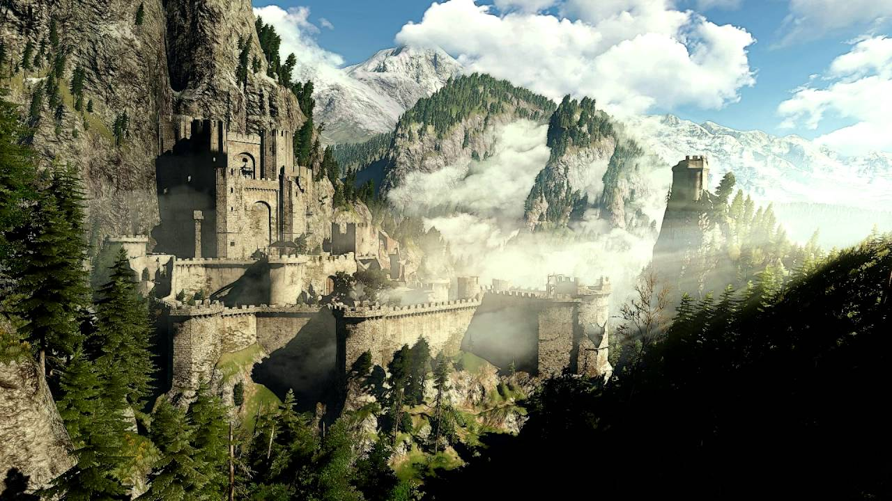 The Witcher 3 Wild Hunt Kaer Morhen 1 Hour Version
