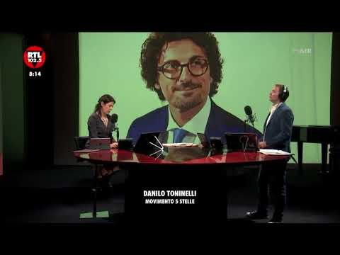 Danilo Toninelli a Non Stop news del 19 aprile 2018