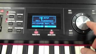 Roland Rd-700gx Saving Setups