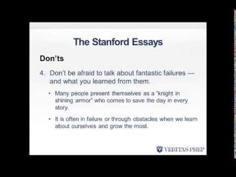 Write Like an Expert Stanford GSB Essays Analyses 2014/2015 Season