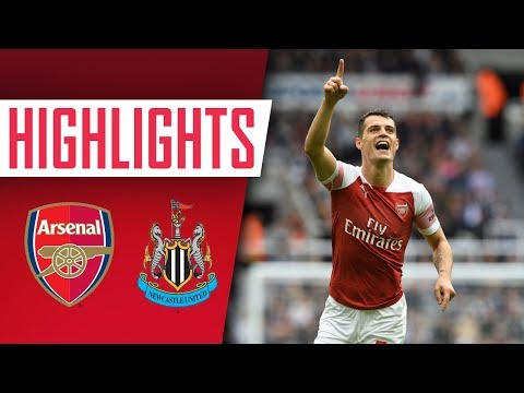 Highlights: Newcastle 1-2 Arsenal