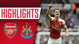 Highlights: Newcastle 1-2 Arsenal