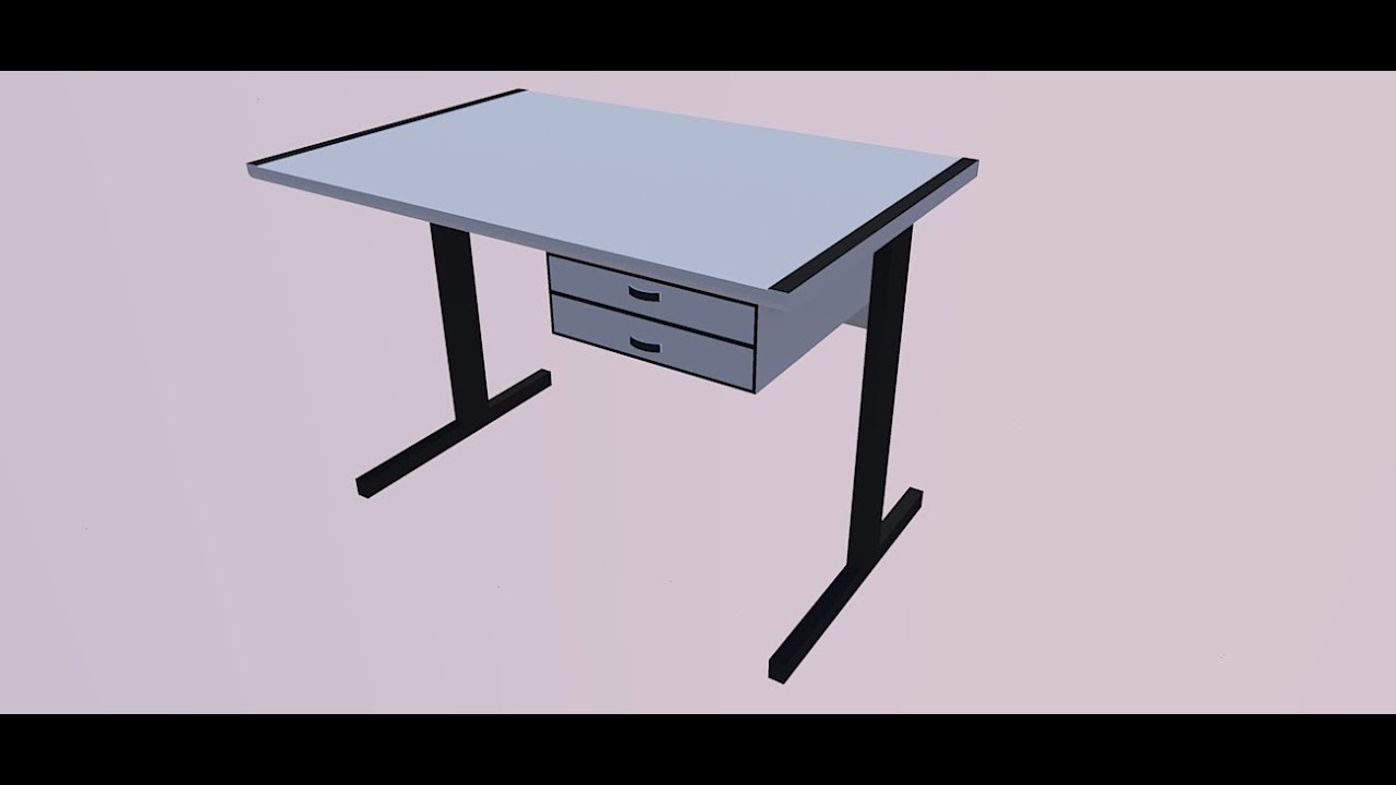 Pr via mesa de escritorio youtube for Protector de mesa escritorio